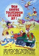 Zwei tolle Käfer räumen auf - Danish Movie Poster (xs thumbnail)