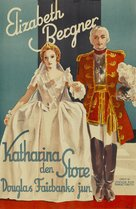 The Rise of Catherine the Great - Danish Movie Poster (xs thumbnail)