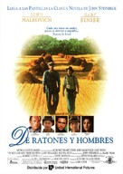 Of Mice and Men - Spanish Movie Poster (xs thumbnail)