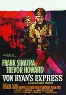 Von Ryan's Express - Belgian Movie Poster (xs thumbnail)