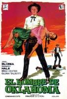 The Oklahoman - Spanish Movie Poster (xs thumbnail)