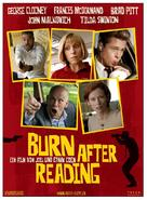 Burn After Reading - Swiss Movie Poster (xs thumbnail)