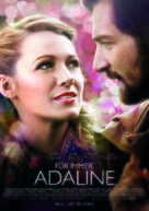 The Age of Adaline - German Movie Poster (xs thumbnail)