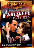 A Farewell to Arms - Australian DVD movie cover (xs thumbnail)
