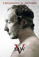 Saw V - Danish Movie Poster (xs thumbnail)