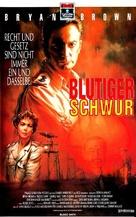 Blood Oath - German VHS cover (xs thumbnail)