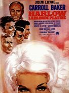 Harlow - French Movie Poster (xs thumbnail)