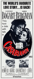 Casablanca - Australian Re-release movie poster (xs thumbnail)