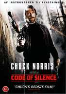 Code Of Silence - Danish DVD movie cover (xs thumbnail)
