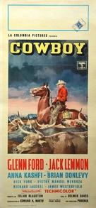 Cowboy - Italian Movie Poster (xs thumbnail)