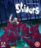 Shivers - British Blu-Ray movie cover (xs thumbnail)