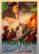 Pontius Pilate - Italian Movie Poster (xs thumbnail)