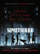Pet Sematary - French Movie Poster (xs thumbnail)