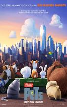 The Secret Life of Pets - Brazilian Movie Poster (xs thumbnail)