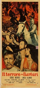 Il terrore dei barbari - Italian Movie Poster (xs thumbnail)