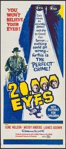 20,000 Eyes - Australian Movie Poster (xs thumbnail)