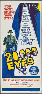 20,000 Eyes - Australian Movie Poster (xs thumbnail)