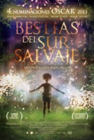 Beasts of the Southern Wild - Spanish Movie Poster (xs thumbnail)