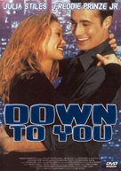 Down To You - French poster (xs thumbnail)