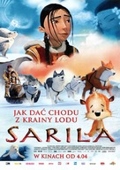 The legend of Sarila/La légende de Sarila - Polish Movie Poster (xs thumbnail)