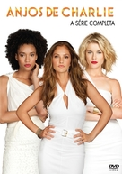 """""""Charlie's Angels"""" - Portuguese DVD movie cover (xs thumbnail)"""
