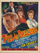 Son of Dracula - Belgian Theatrical poster (xs thumbnail)