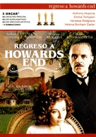 Howards End - Spanish DVD movie cover (xs thumbnail)