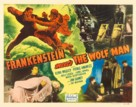 Frankenstein Meets the Wolf Man - Re-release movie poster (xs thumbnail)