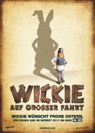 Wickie auf großer Fahrt - German Movie Poster (xs thumbnail)