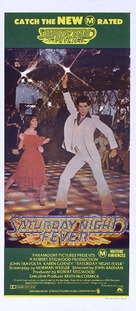 Saturday Night Fever - Australian Movie Poster (xs thumbnail)