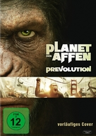 Rise of the Planet of the Apes - German DVD cover (xs thumbnail)