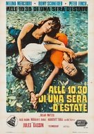 10:30 P.M. Summer - Italian Movie Poster (xs thumbnail)