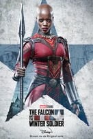"""""""The Falcon and the Winter Soldier"""" - Dutch Movie Poster (xs thumbnail)"""