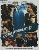 Foreign Correspondent - French Movie Poster (xs thumbnail)