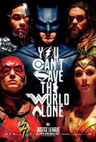 Justice League - Singaporean Movie Poster (xs thumbnail)