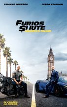 Fast & Furious Presents: Hobbs & Shaw - Romanian Movie Poster (xs thumbnail)