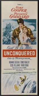 Unconquered - Theatrical poster (xs thumbnail)