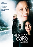 Snow Cake - French DVD movie cover (xs thumbnail)