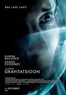 Gravity - Estonian Movie Poster (xs thumbnail)