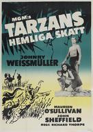 Tarzan's Secret Treasure - Swedish Movie Poster (xs thumbnail)