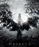 Dracula Untold - Serbian Movie Poster (xs thumbnail)