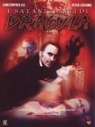 The Satanic Rites of Dracula - Italian DVD movie cover (xs thumbnail)