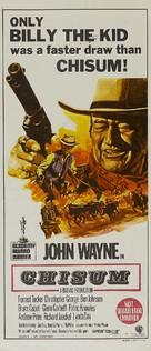 Chisum - Australian Movie Poster (xs thumbnail)