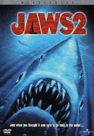 Jaws 2 - DVD cover (xs thumbnail)