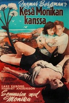 Sommaren med Monika - Finnish Movie Poster (xs thumbnail)