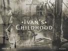 Ivanovo detstvo - British Re-release poster (xs thumbnail)