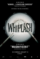 Whiplash - British Movie Poster (xs thumbnail)