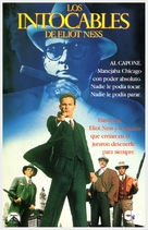 The Untouchables - Spanish VHS movie cover (xs thumbnail)