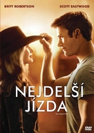 The Longest Ride - Czech DVD movie cover (xs thumbnail)