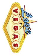 What Happens in Vegas - German Logo (xs thumbnail)